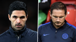 Video: How Arteta and Lampard reacted to the 2020 FA Cup final