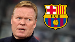 Koeman not allowed on touchline for Barcelona season opener as La Liga giants wait on clearance