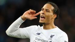 Kompany explains Van Dijk 'best' claim as he salutes 'old-school' Liverpool talisman