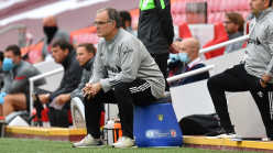 Why does Marcelo Bielsa sit on a bucket on the sidelines?