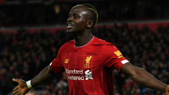 Mane hits his 100th goal in English football after returning from injury for Liverpool at Norwich