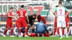 Augsburg 2-2 Bayern Munich: Sule injured as champions are hit by last-gasp equaliser
