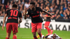 Thomas Partey scores in Atletico Madrid draw with Valencia