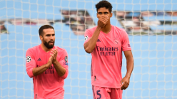 Varane admits to difficult days for Real Madrid after Champions League horror show against Man City