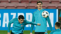 Barcelona tried to sign both Morata and Courtois, claims says former vice-president Mestre