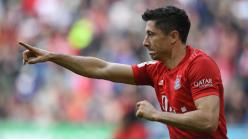 Lewandowski matches Aubameyang Bundesliga record as goal streak continues