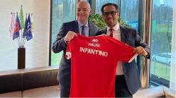 Fifa boss Infantino meets Simba SC official in Tanzania visit
