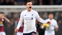 Robertson no longer playing through pain for Liverpool as Reds recover in refreshing break
