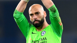 Chelsea goalkeeper Caballero: Contract extension a