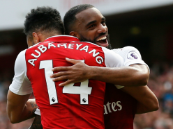 Lacazette: No competition with Aubameyang & I