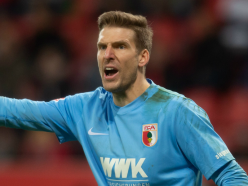 Augsburg keeper bites off part of his tongue and plays on