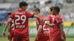 Borussia Monchengladbach 1-3 Bayer Leverkusen: In-demand Havertz sends Bosz