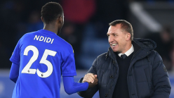 Leicester City boss Rodgers casts doubt over Ndidi return against Wolverhampton Wanderers