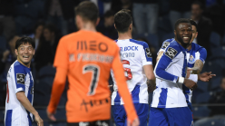Mbemba's double powers 10-man Porto to Portuguese Cup win against Benfica
