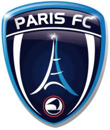 Paris FC team logo