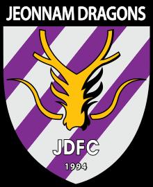 Jeonnam Dragons team logo