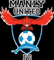 Manly United FC team logo