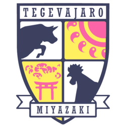Tegevajaro Miyazaki team logo