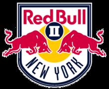 New York Red Bulls 2 team logo