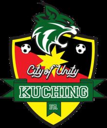Kuching FA team logo