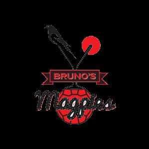 Brunos Magpies team logo