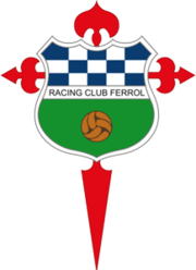 Racing De Ferrol team logo