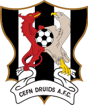 Cefn Druids AFC team logo