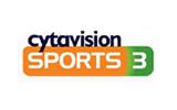 Cytavision Sports 3 tv logo
