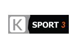 K Sport 3 / HD tv logo