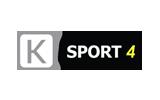 K Sport 4 / HD tv logo