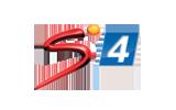 SuperSport 4 / HD tv logo