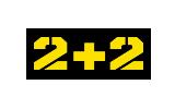 2+2 tv logo