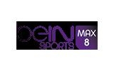 beIN Sports Max 8 / HD tv logo