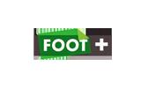 Foot+ / HD tv logo