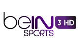 beIN Sports Mena 3 HD tv logo