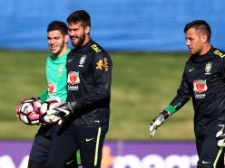 Alisson vs Ederson - England's Premier League the frontline for Brazil's no.1 battle