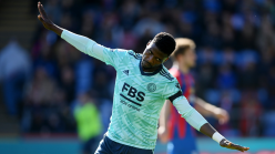 Iheanacho battles Vardy and Perez for Leicester City Goal of the Month award
