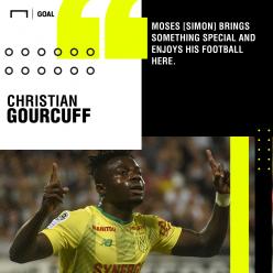 Moses Simon: Nantes keen to keep Nigerian forward