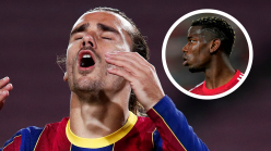 Pogba offered up as inspiration to Griezmann as France boss Deschamps reacts to Barcelona struggles