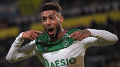 Bouanga scores as AS Saint-Etienne shock Olympique Marseille