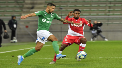 Saint-Etienne's Bouanga nominated for Ligue 1 award