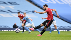 Fernandes will never shirk penalty pressure at Man Utd after helping to secure derby win over City