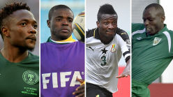 Who's each African nation's most capped player?