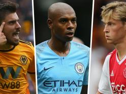 How do Man City replace Fernandinho? From Jorginho failure to De Jong and Ruben Neves transfer plans