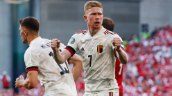 De Bruyne puts six-month timescale on injury recovery as Man City & Belgium star plays through pain