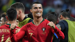 Cristiano Ronaldo & the top 20 men