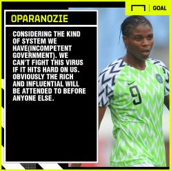 Coronavirus: Oparanozie calls the Nigerian government 'incompetent'