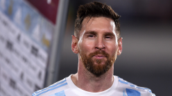 Messi becomes first South American player to score 80 international goals after netting in Argentina