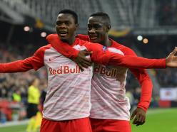 Patson Daka ends goal drought in RB Salzburg