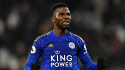 Iheanacho header against Fulham up for Leicester City award